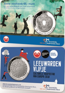 5 euro Netherland 2018 Leeuwarden coincard.jpg