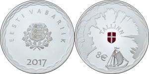 Estonia 2017 8 Euro Tallin.jpg