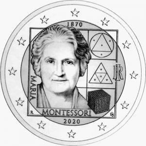2 euro Italy 2020 Montessori.jpg