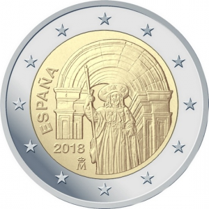 2 euro Spain 2018 Santiago de Compostela.jpg