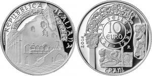 Italy 2018 10 euro Cattedrale Trani.jpg