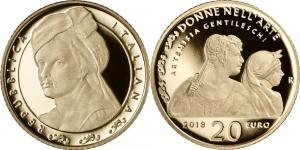 Italy 2018 20 euro Artemisia Gentileschi.jpg