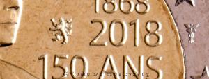 Lussemburgo-simboli-2-euro-150°-anniversario-costituzione-lussemburghese-2018-circ.gif