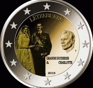 Lussemburgo-2-euro-commemorativo-Granduchessa-Charlotte-2019-760x475.gif