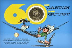 Belgium 5 euro 2017 Gaston blister.jpg