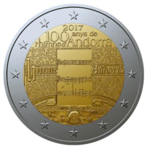 2017 Андорра - 100 лет гимна Андорры.png