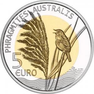 Lux 2018 5 euro Phragmites australis.jpg