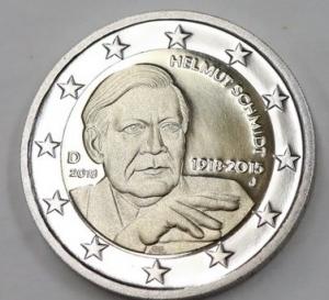 2 euro Germany 2018 Helmut Schmidt.jpg