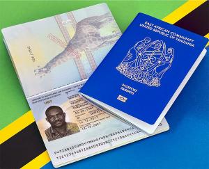 1 новый электронный паспорт Танзании, .jpg