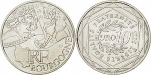 Франция 10 евро 2012 Bourgogne.JPG