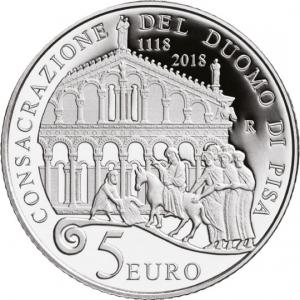 Italy 2018 5 euro Pisa rev.jpg