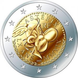 2 euro 2019 France Asterix.jpg