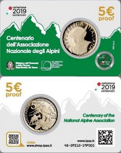 Italy 2019 5 euro ANA coincard.jpg