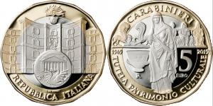 Italy 2019 5 euro Carabinieri TPC.jpg
