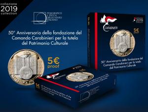 Italy 2019 5 euro Carabinieri TPC box.jpg