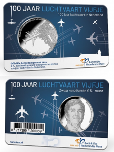5 euro Netherland 2019 Aviation coincard.jpg