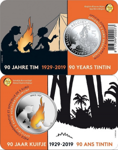 Belgium 2019 5 euro Tintin coincard color.jpg