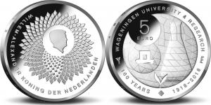 Netherland 2018 5 euro Wageningen University.jpg