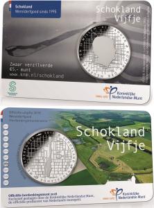 Netherland 2018 5 euro Schokland coincard.jpg