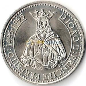 Португалия 200 эскудо 1994 год. Жуан II.jpg