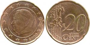 Belgium 20 Eurocent 2000 Error.jpg