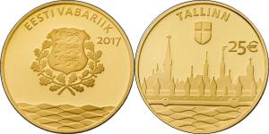 Estonia 2017 25 Euro Tallin.jpg