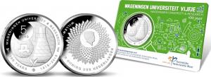 Netherland 2018 5 euro Wageningen University coincard.jpg