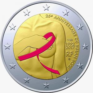 2 euro France 2017 ruban rose colored.jpg