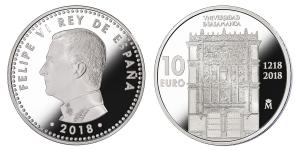 Spain 2018 10 euro Universidad de Salamanca.jpg