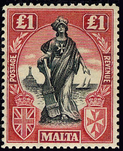 Malta 1922 One Pound.jpg