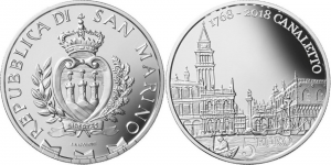 San Marino 2018 5 euro Canaletto.jpg