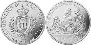 San Marino 2018 10 euro Cultural heritage.jpg